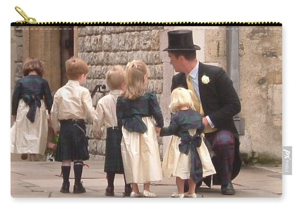 London Tower Wedding Carry-all Pouch