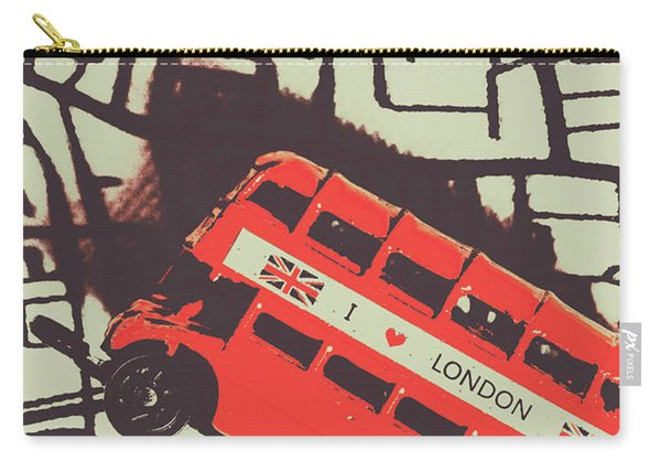 Londoners Travel Run Carry-all Pouch