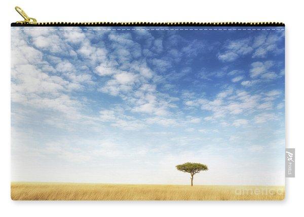 Lone Acacia Tree In The Masai Mara Carry-all Pouch