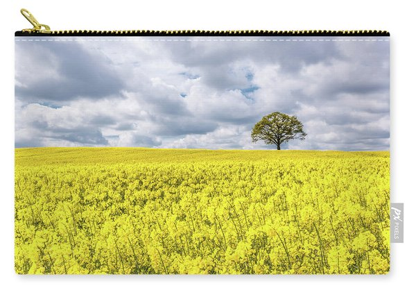 Carry-all Pouch featuring the photograph Lone Beauty by Nick Bywater