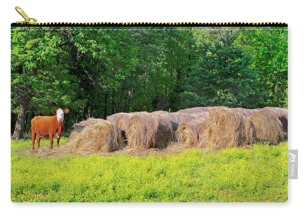 Lone Cow Guard, Smith Mountain Lake Carry-all Pouch