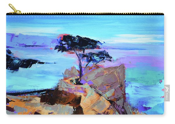 Lone Cypress - California Carry-all Pouch