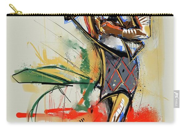 Lone Native Soldier Carry-all Pouch