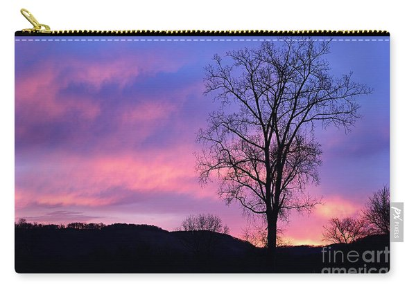 Lone Tree At Dawn Carry-all Pouch