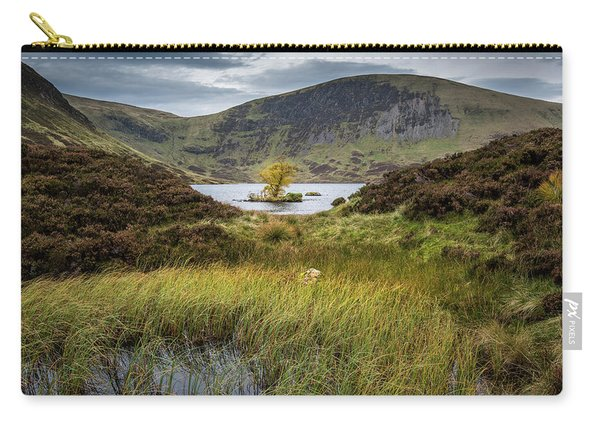 Lone Tree In Loch Skeen Carry-all Pouch