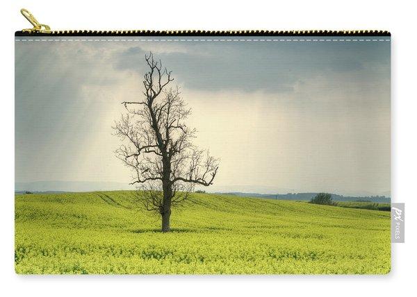 Lone Tree In Rape Field 2 Carry-all Pouch