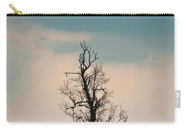 Lone Tree In Rape Field 3 Carry-all Pouch