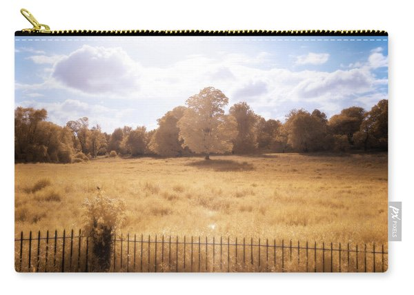 Carry-all Pouch featuring the photograph Lone Tree Ir by Brian Hale
