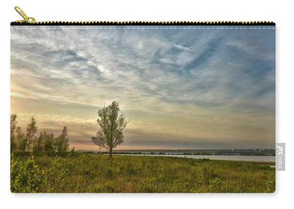 Lonely Tree In Dintelse Gorzen Carry-all Pouch