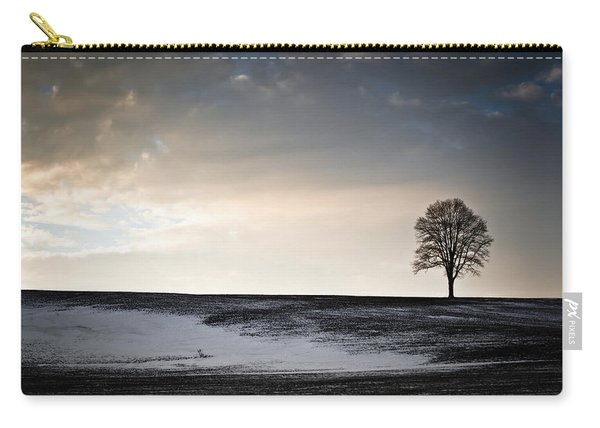 Lonesome Tree On A Hill IIi Carry-all Pouch