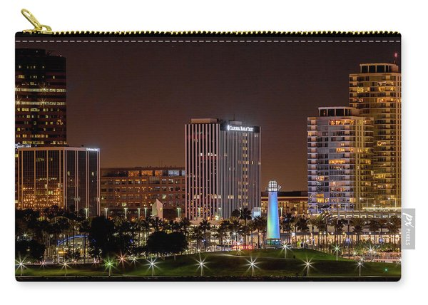 Long Beach A Chip In Time Color Carry-all Pouch