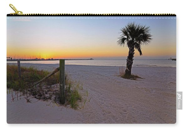 Long Beach Sunrise - Mississippi - Beach Carry-all Pouch