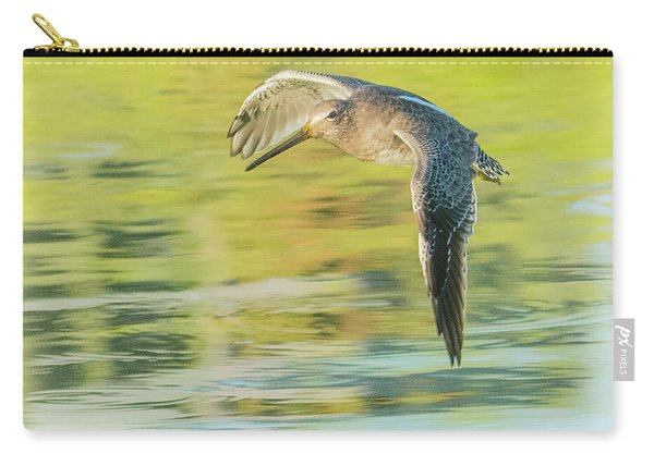Long-billed Dowitcher 4799-091917-1cr Carry-all Pouch