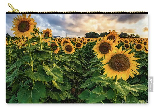 Long Island Sunflowers  Carry-all Pouch