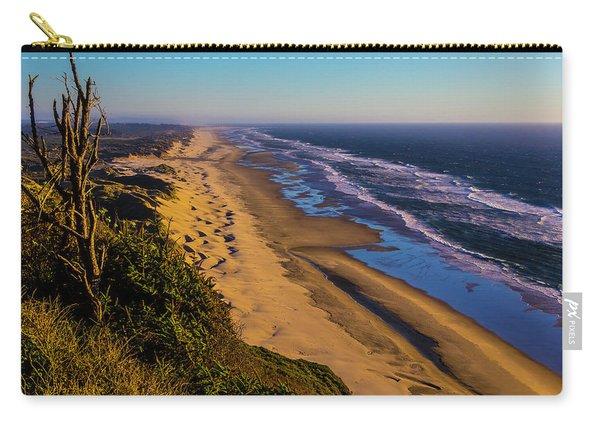 Long Strech Of Oregon Beach Carry-all Pouch