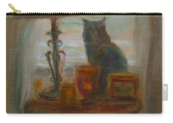 Longing- A Not-so-stillife Carry-all Pouch