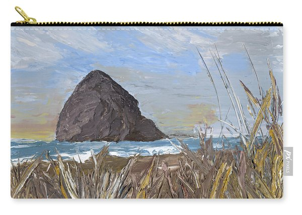 Longing For The Sounds Of Haystack Rock Carry-all Pouch
