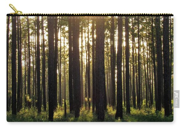Longleaf Pine Forest Carry-all Pouch