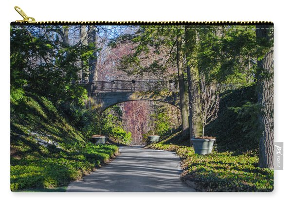 Longwood Gardens - Bridge Over Path Carry-all Pouch