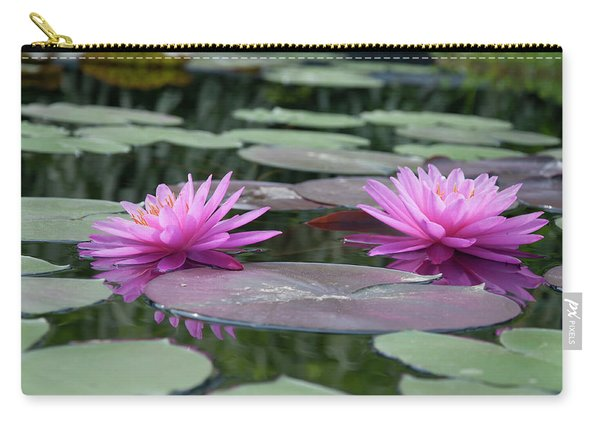 Longwood Gardens - Water Lillies - Chester County Pa Carry-all Pouch