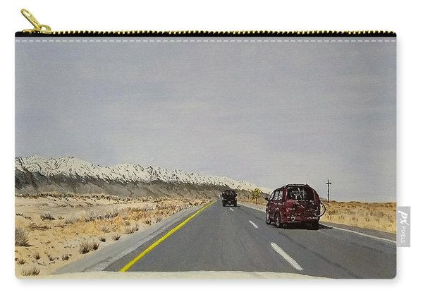 Carry-all Pouch featuring the painting Look For America by Kevin Daly