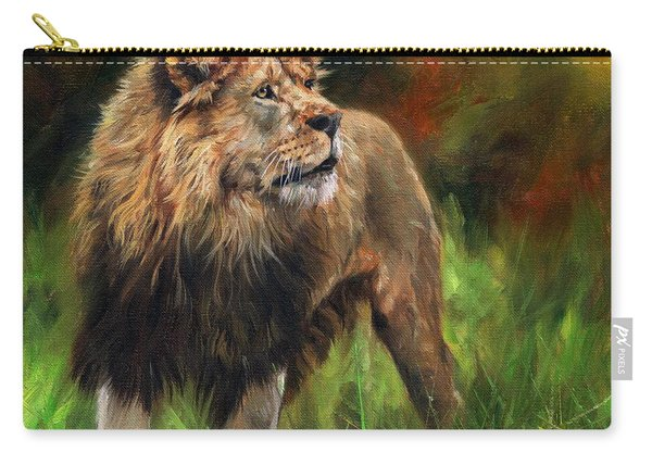Look Of The Lion Carry-all Pouch