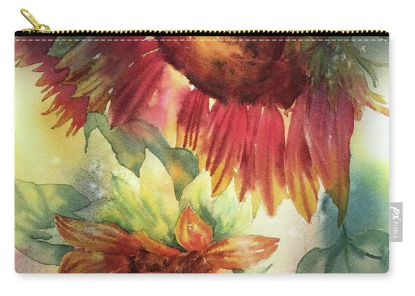 Look On The Sunny Side Carry-all Pouch
