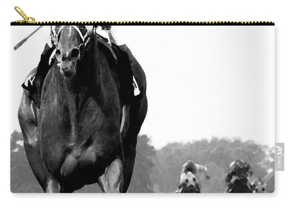 Looking Back, 1973 Secretariat, Stretch Run, Belmont Stakes Carry-all Pouch