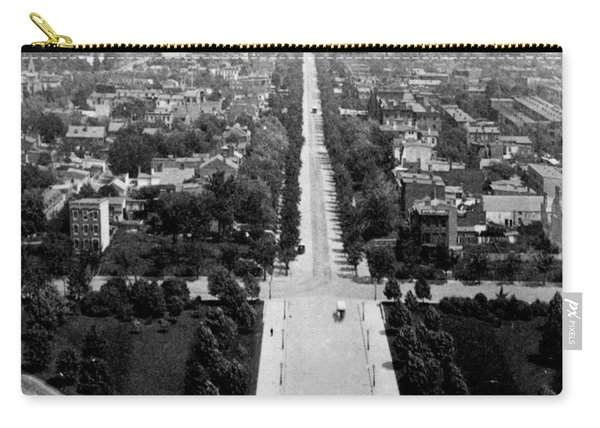 Looking Down East Capitol Street From The Dome Of Capitol Building - Washington Dc - C 1890 Carry-all Pouch
