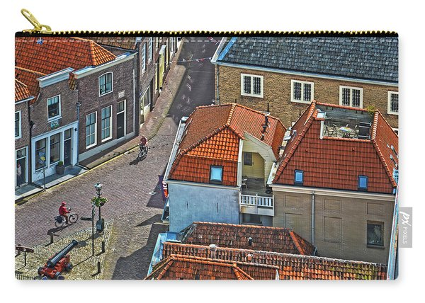 Looking Down From The Church Tower In Brielle Carry-all Pouch