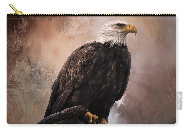 Looking Forward - Eagle Art Carry-all Pouch