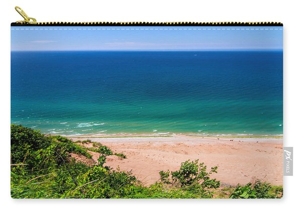 Looking Out From Sleeping Bear Dunes Carry-all Pouch