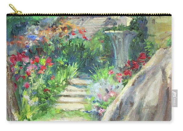 Looking Up The Garden Pathway Carry-all Pouch