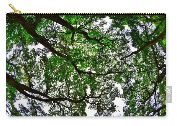 Looking Up The Oaks Carry-all Pouch