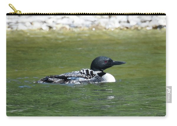 Loon In The Afternoon Sun Carry-all Pouch