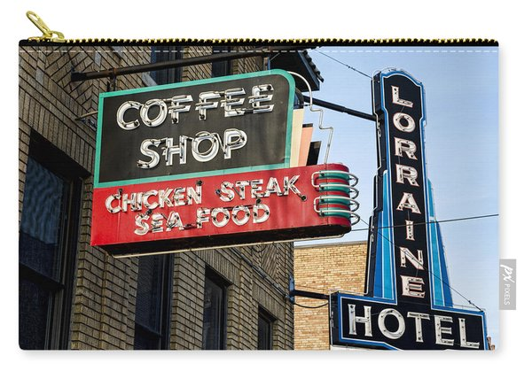 Lorraine Hotel Coffee Shop Carry-all Pouch