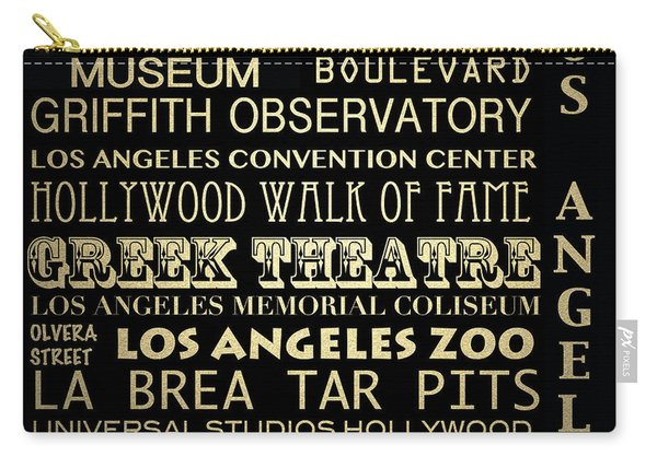 Los Angeles California Famous Landmarks Carry-all Pouch