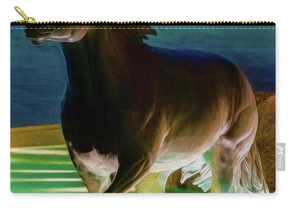 Las Colinas Mustangs Filter Carry-all Pouch