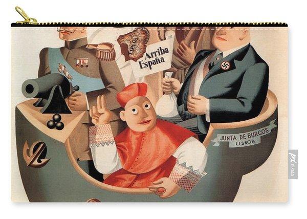 Los Nacionales - Ministerio De Propaganda - Vintage Propaganda Poster Carry-all Pouch