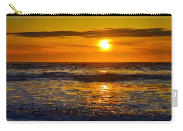 Lost Coast Sunset Carry-all Pouch