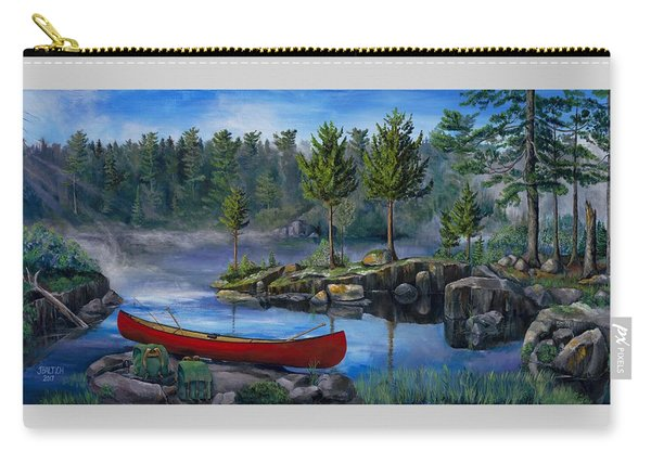 Lost In The Boundary Waters Carry-all Pouch