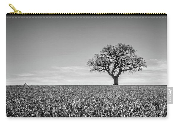 Carry-all Pouch featuring the photograph Lost by Nick Bywater