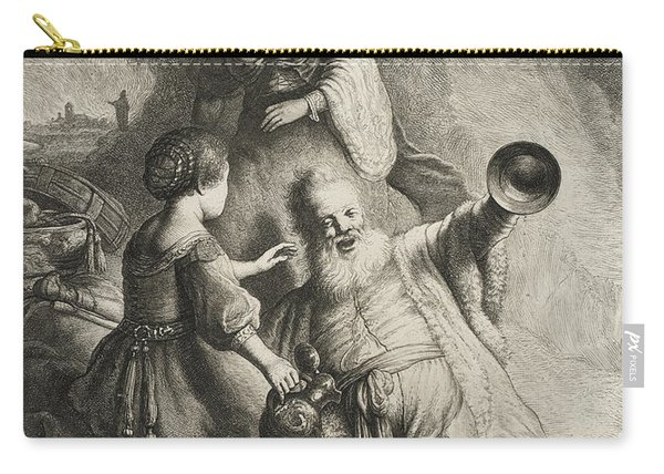 Lot And His Daughters Carry-all Pouch