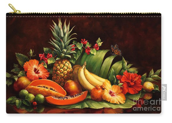 Lots Of Fruit Carry-all Pouch