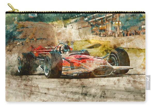 Lotus 49 - 33 Carry-all Pouch