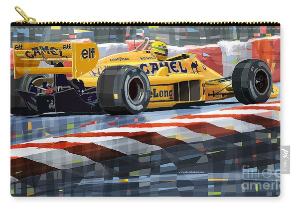 Lotus 99t 1987 Ayrton Senna Carry-all Pouch
