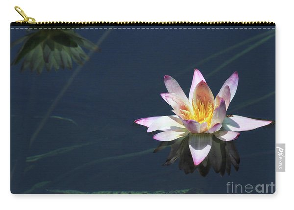 Lotus And Reflection Carry-all Pouch