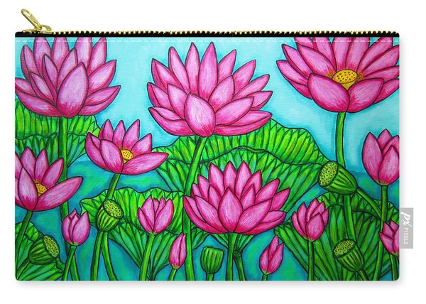 Lotus Bliss II Carry-all Pouch