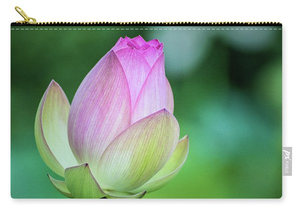 Lotus Bud Carry-all Pouch