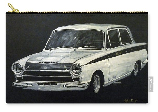 Carry-all Pouch featuring the painting Lotus Cortina by Richard Le Page